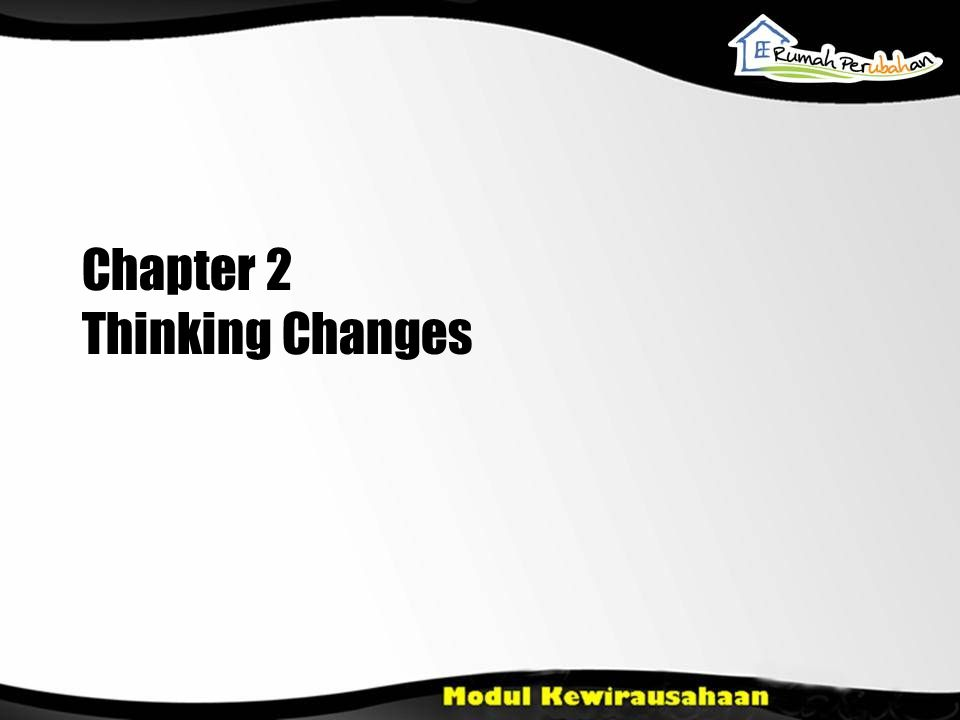 Chapter 2 Thinking Changes