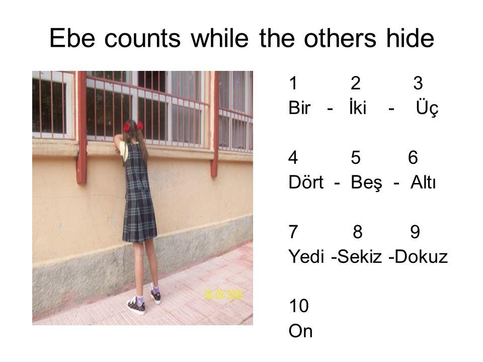Children choose a seeker called 'ebe'