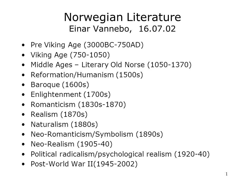 12 Realism 1870s Modern breakthrough Take up contemporary problems for discussion Social, representative types Plays, novels The four great authors: Bjørnson, Ibsen, Alexander Kielland, Jonas Lie Poetocracy