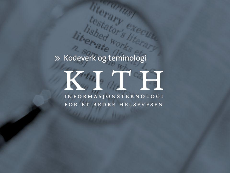 SNOMED CT Jostein Ven, KITH, 02.11.2004 Semantisk nettverk (is-a-relasjonen)