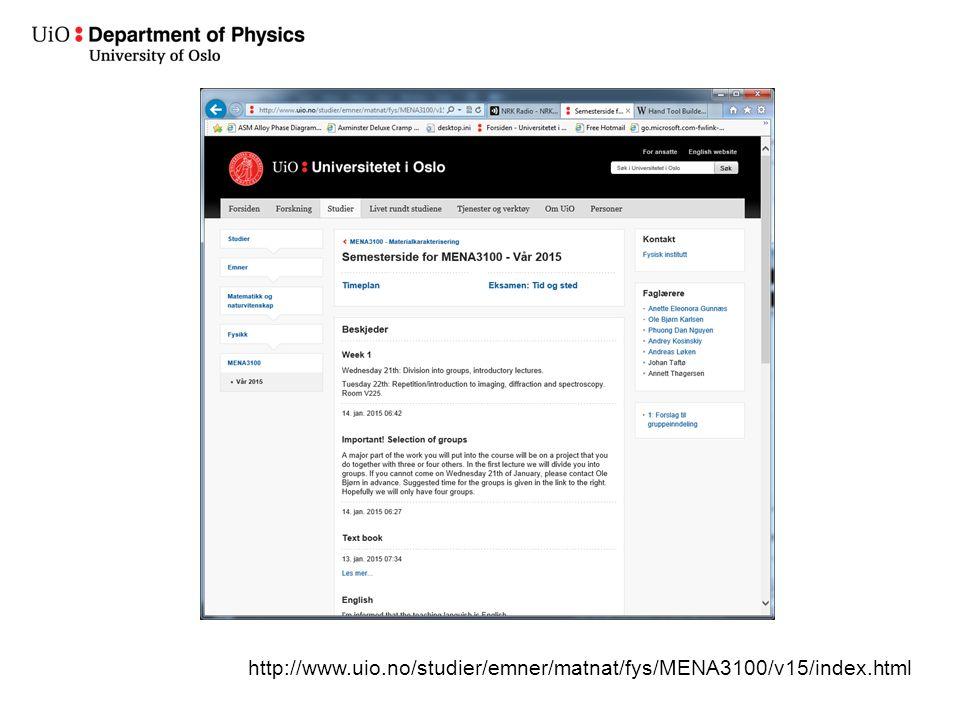 http://www.uio.no/studier/emner/matnat/fys/MENA3100/v15/index.html