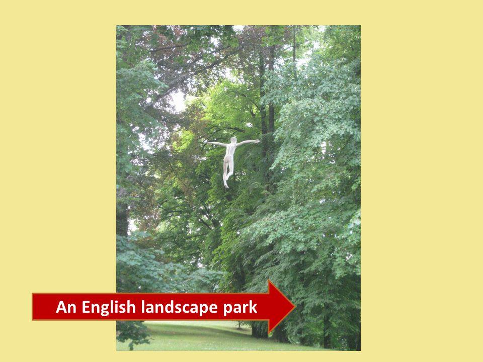 An English landscape park
