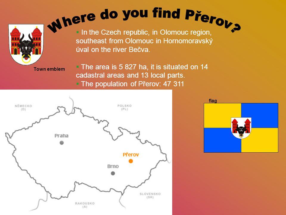  In the Czech republic, in Olomouc region, southeast from Olomouc in Hornomoravský úval on the river Bečva.  The area is 5 827 ha, it is situated on