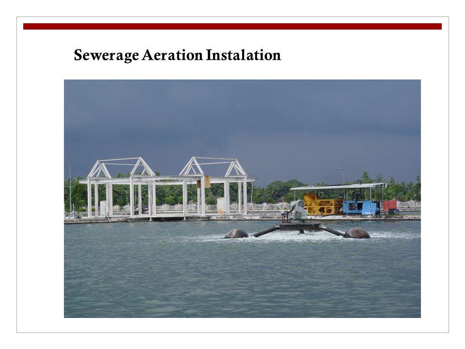 Sewerage Aeration Instalation