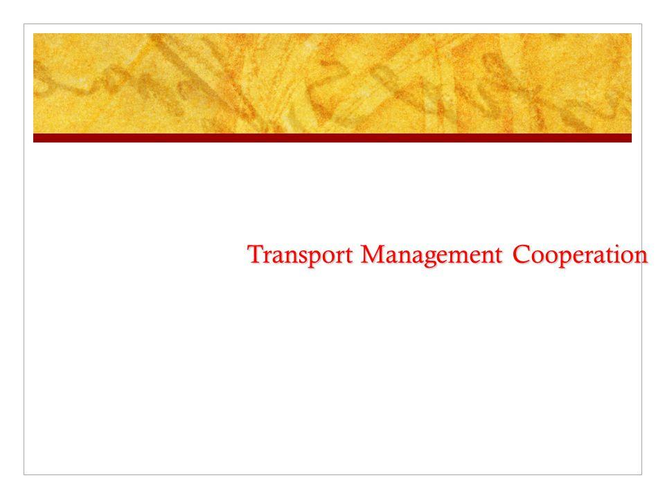 Transport Management Cooperation