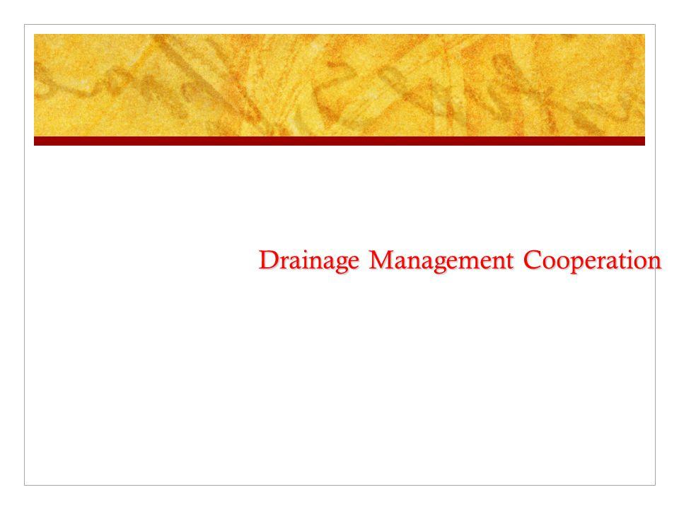 Drainage Management Cooperation