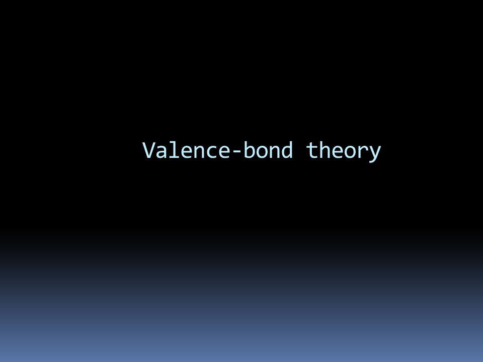 Valence-bond theory
