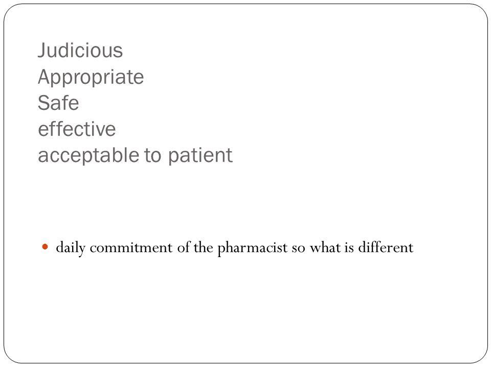 Penentuan Prioritas Berdasarkan Terapi Obat: Kelompok pasien yang menerima obat dengan risiko tinggi reaksi toksisitas (antikoagulan, antibiotika, antineoplastik) Pasien yang diobati dengan polifarmasi