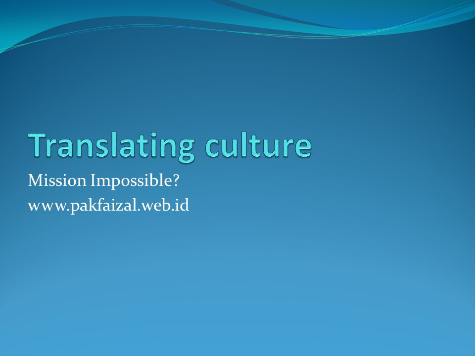 Language is an expression of culture and individuality of its speakers.