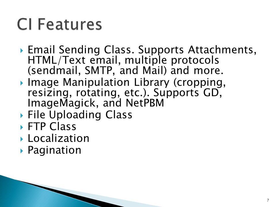  Email Sending Class.