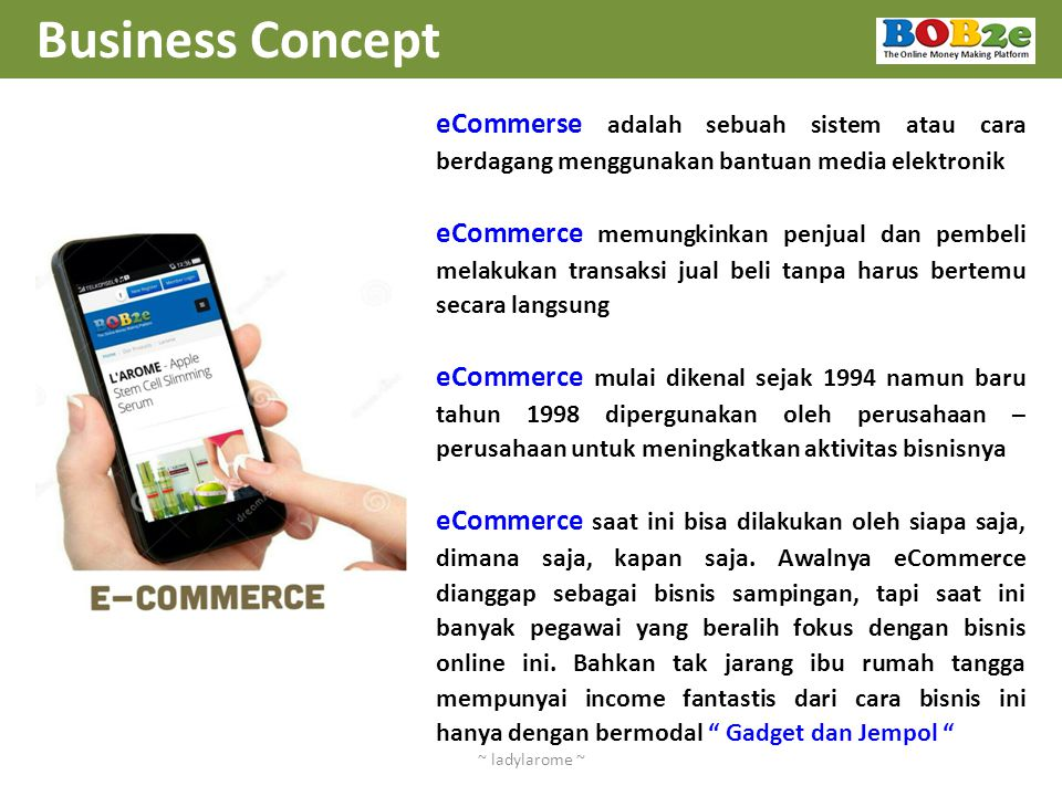 Business Concept ~ ladylarome ~