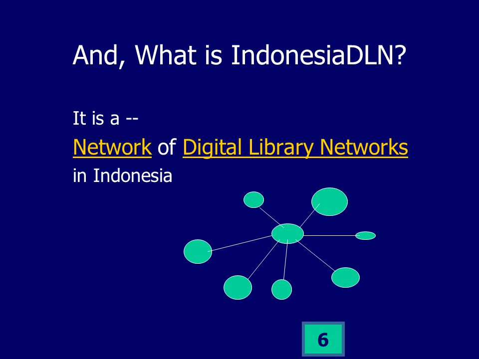 5 So, what is Digital Library.
