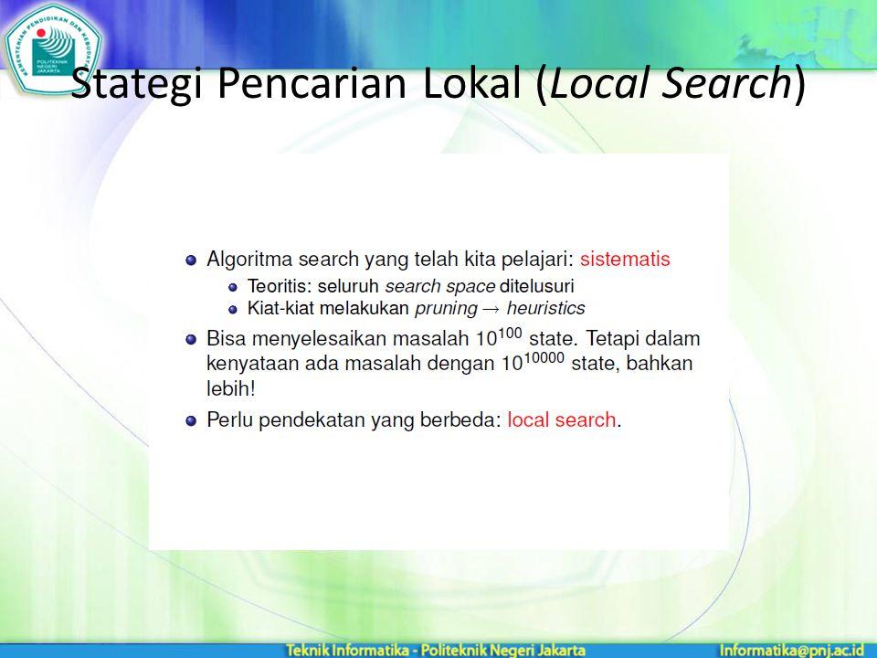Stategi Pencarian Lokal (Local Search)
