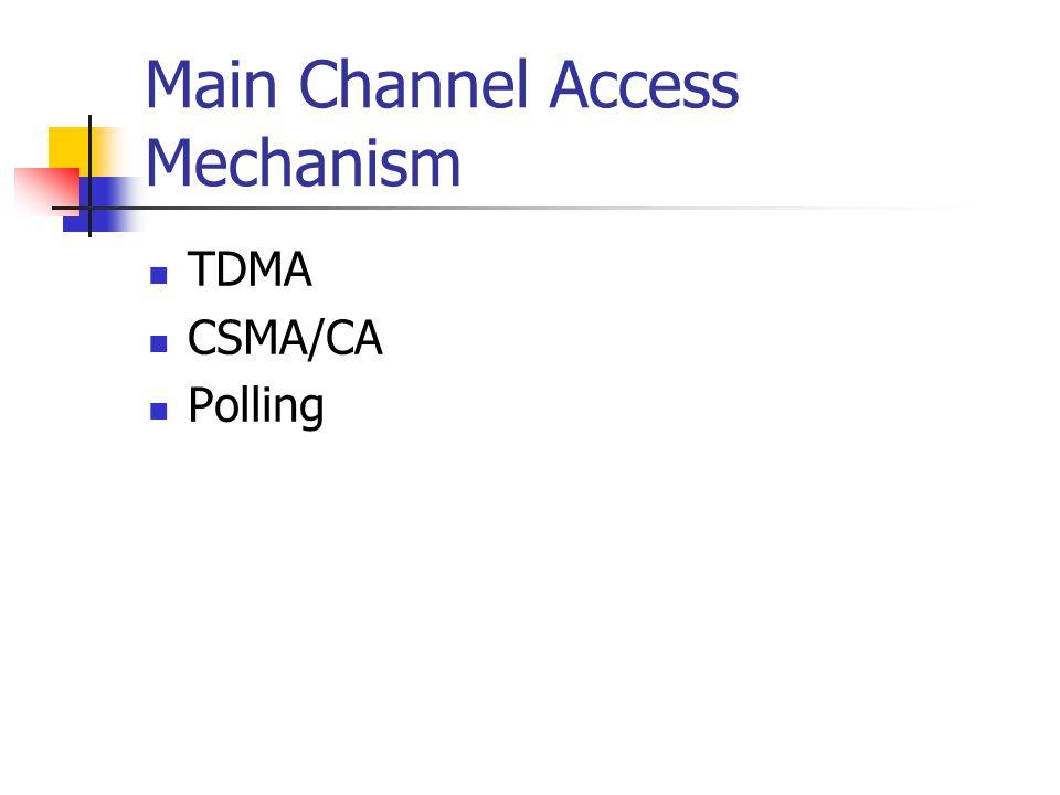 TDMA Access Mechanism