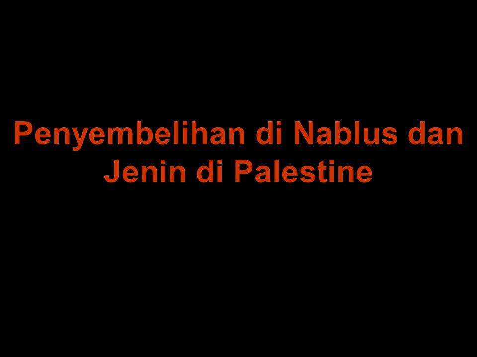 Penyembelihan di Nablus dan Jenin di Palestine