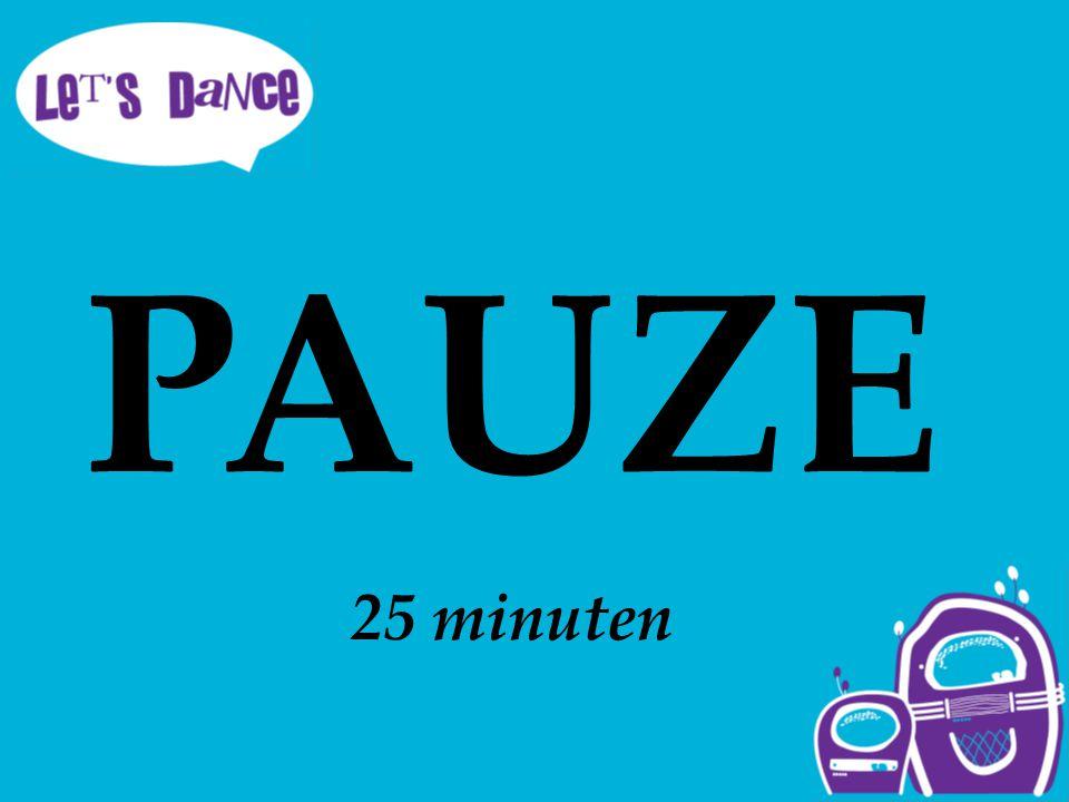 PAUZE 25 minuten