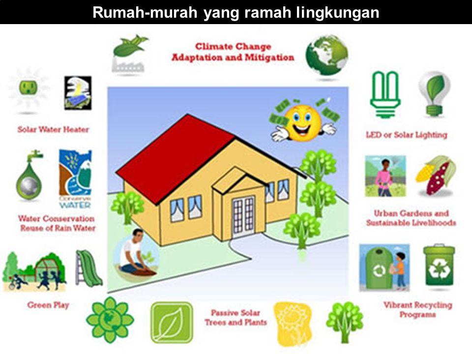 Rumah-murah yang ramah lingkungan