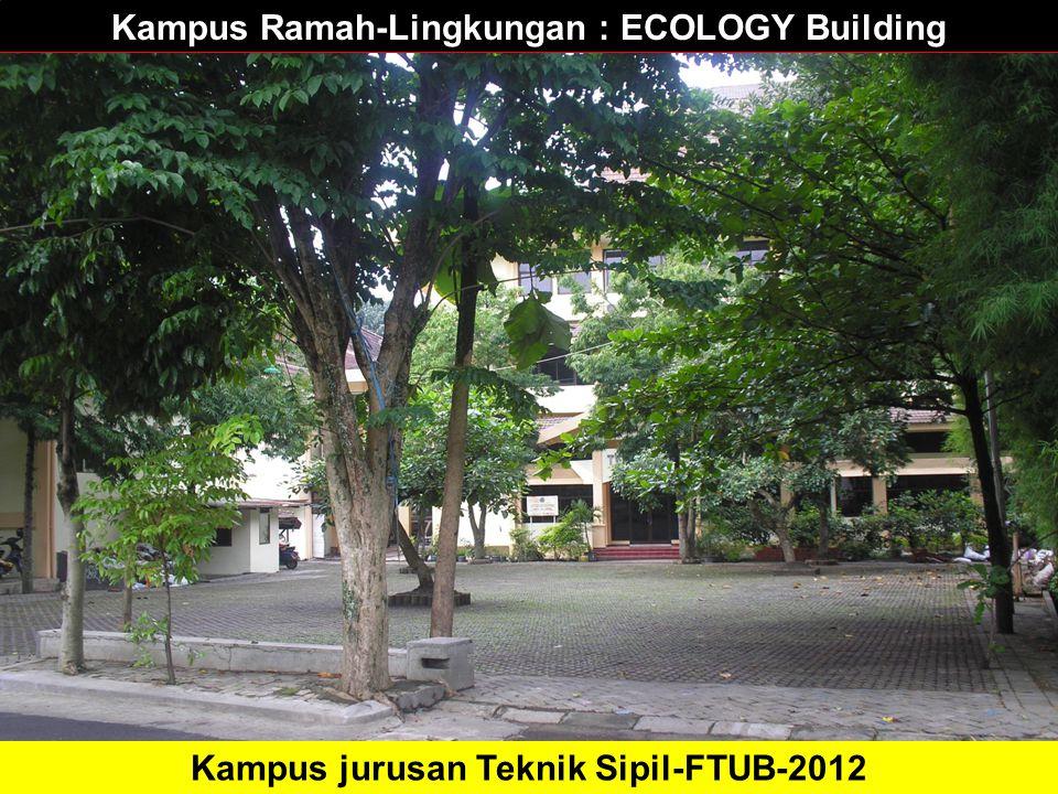 Kampus Ramah-Lingkungan : ECOLOGY Building Kampus jurusan Teknik Sipil-FTUB-2012