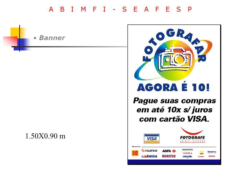 A B I M F I - S E A F E S P Banner 1.50X0.90 m