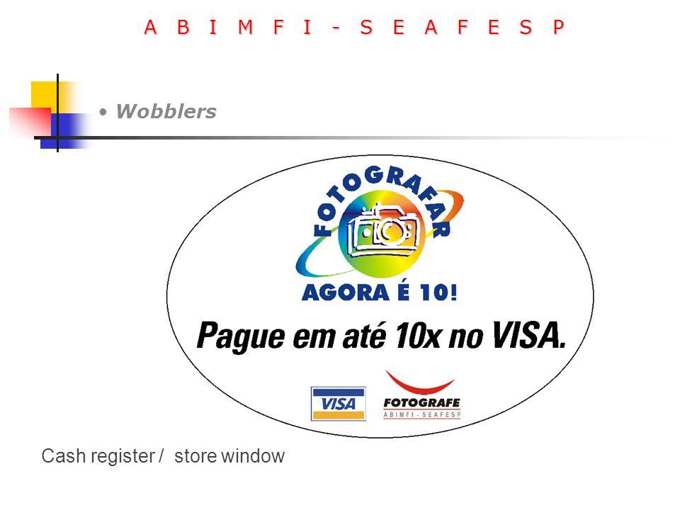 A B I M F I - S E A F E S P Wobblers Cash register / store window