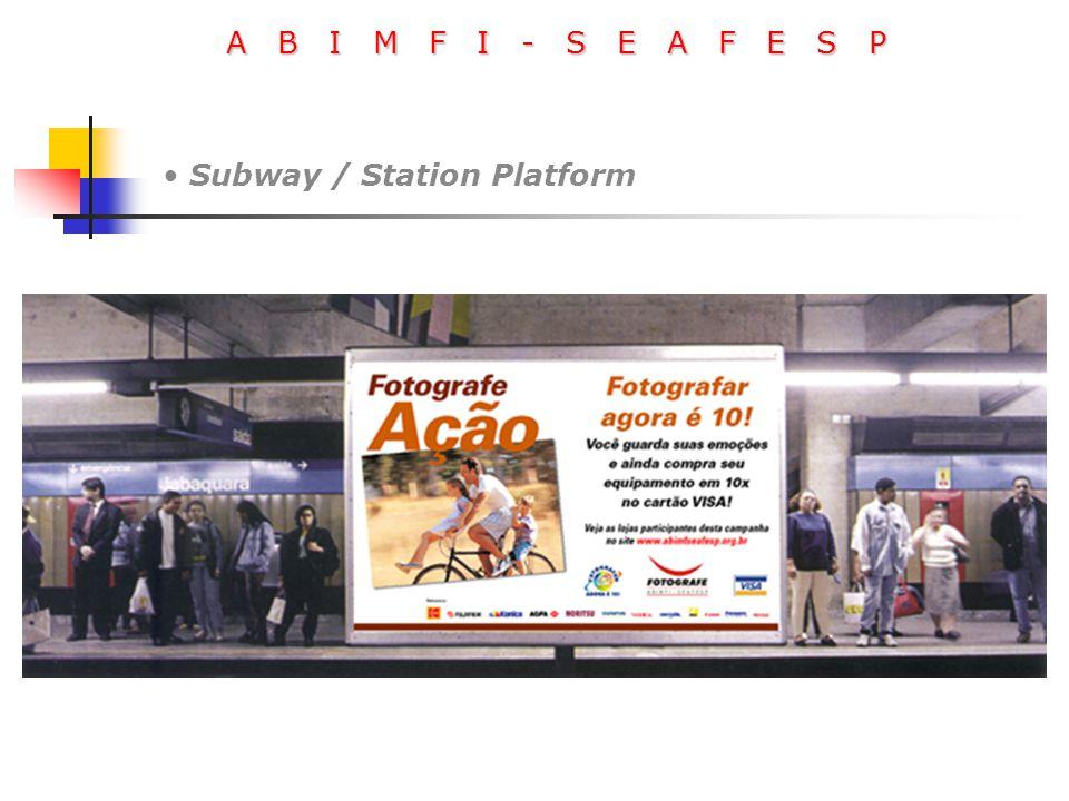 A B I M F I - S E A F E S P Subway / Station Platform
