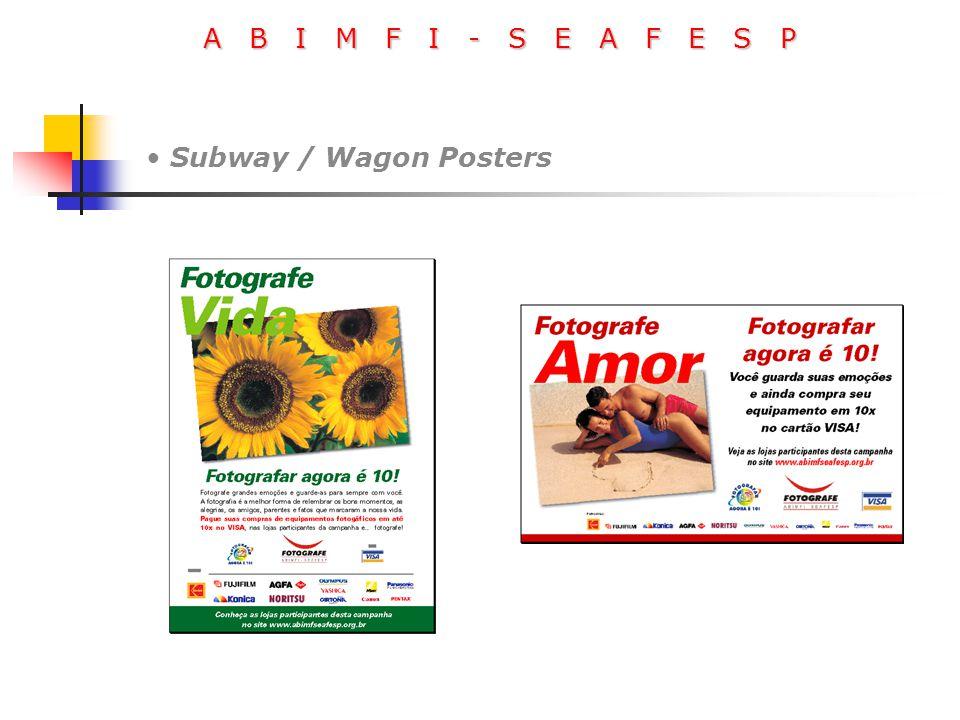 A B I M F I - S E A F E S P Subway / Wagon Posters