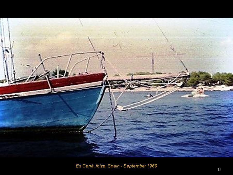 Es Caná, Ibiza, Spain - September 1969 14