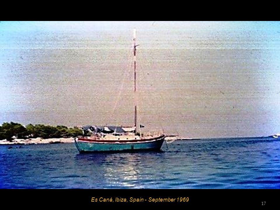 Es Caná, Ibiza, Spain - September 1969 16