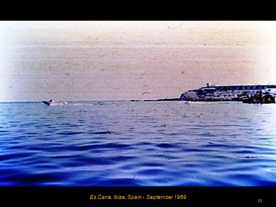 Es Caná, Ibiza, Spain - September 1969 17