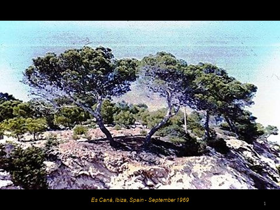 Es Caná, Ibiza, Spain - September 1969 31