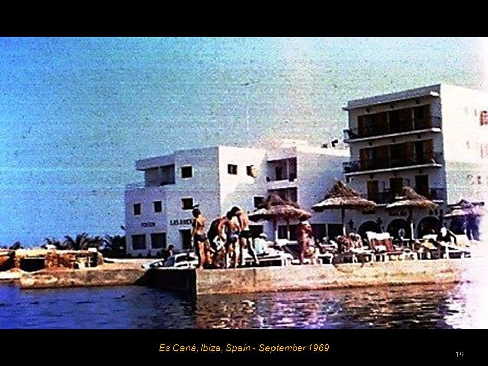 Es Caná, Ibiza, Spain - September 1969 18
