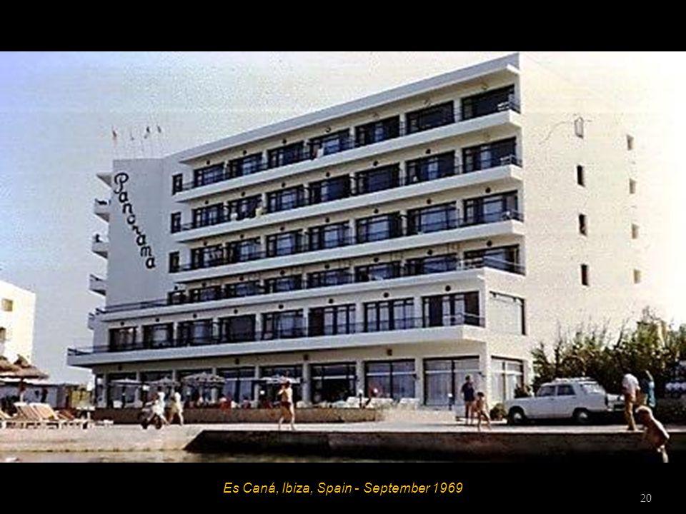 Es Caná, Ibiza, Spain - September 1969 19