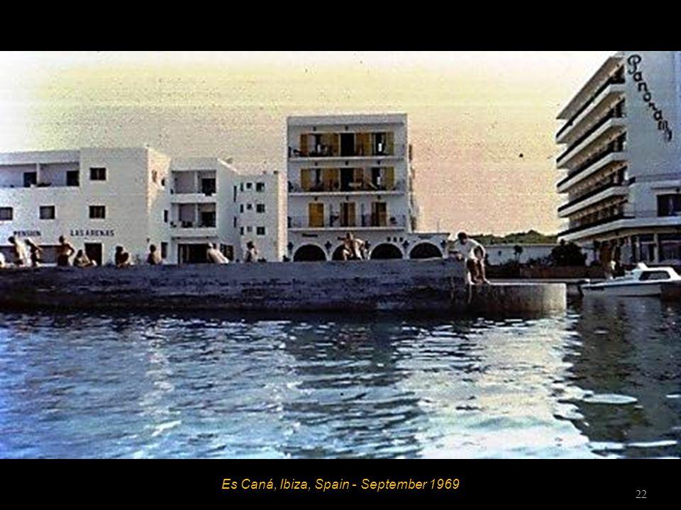 Es Caná, Ibiza, Spain - September 1969 21