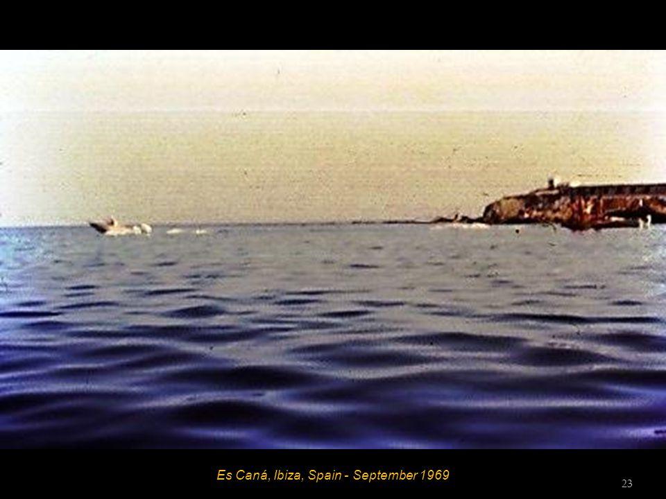 Es Caná, Ibiza, Spain - September 1969 22