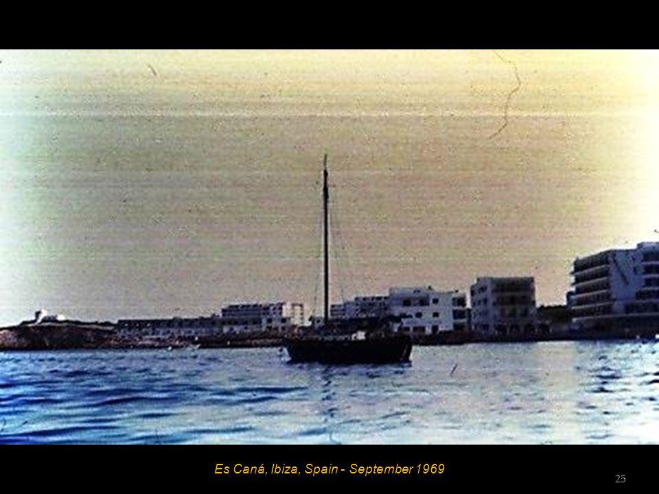 Es Caná, Ibiza, Spain - September 1969 24