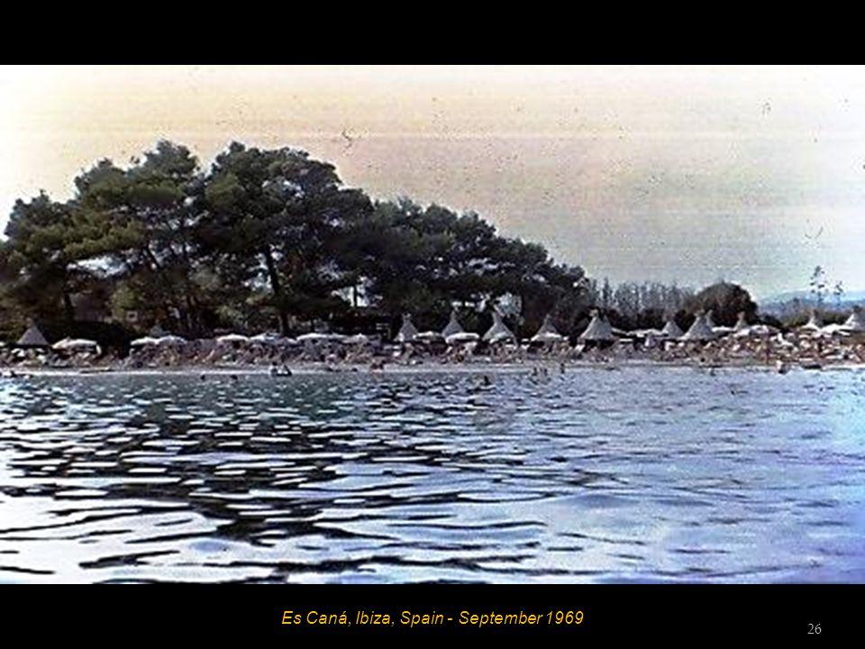 Es Caná, Ibiza, Spain - September 1969 25