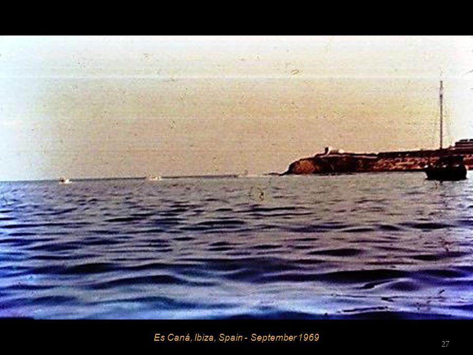 Es Caná, Ibiza, Spain - September 1969 26