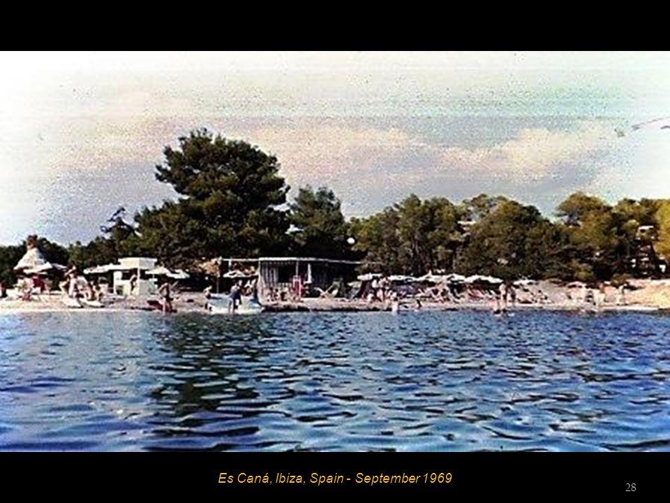 Es Caná, Ibiza, Spain - September 1969 27