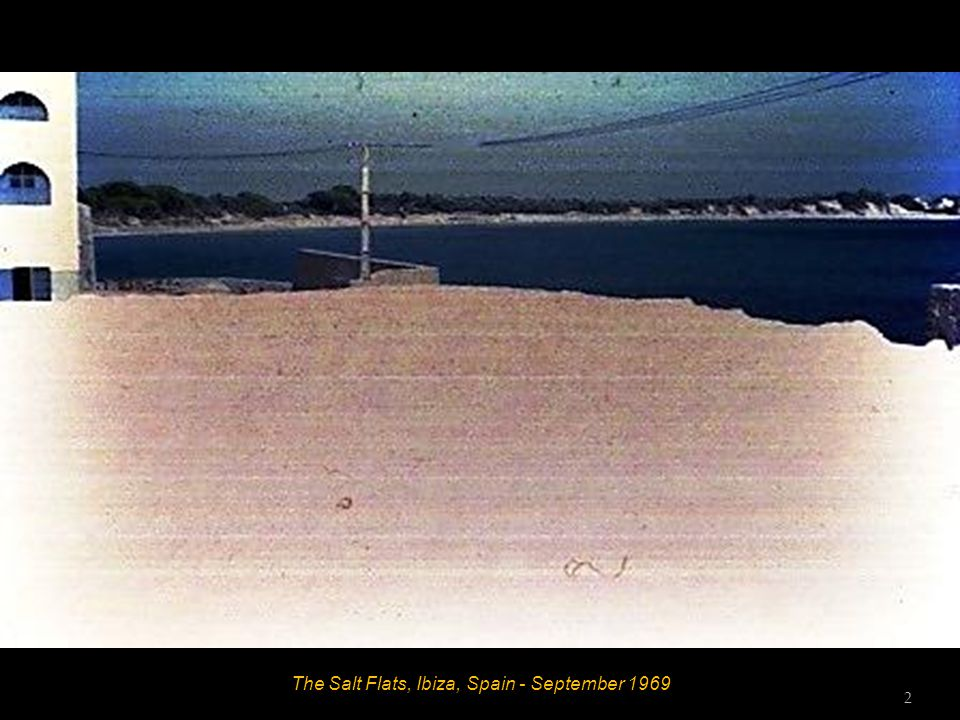 The Salt Flats, Ibiza, Spain - September 1969 2