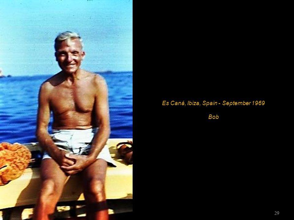Es Caná, Ibiza, Spain - September 1969 28