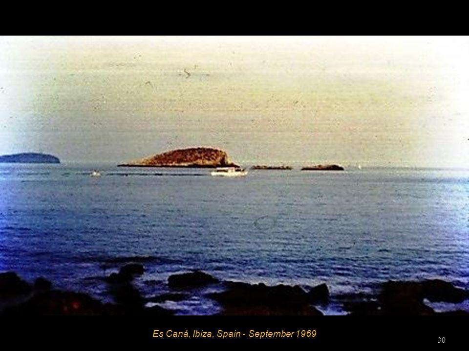 Es Caná, Ibiza, Spain - September 1969 Bob 29
