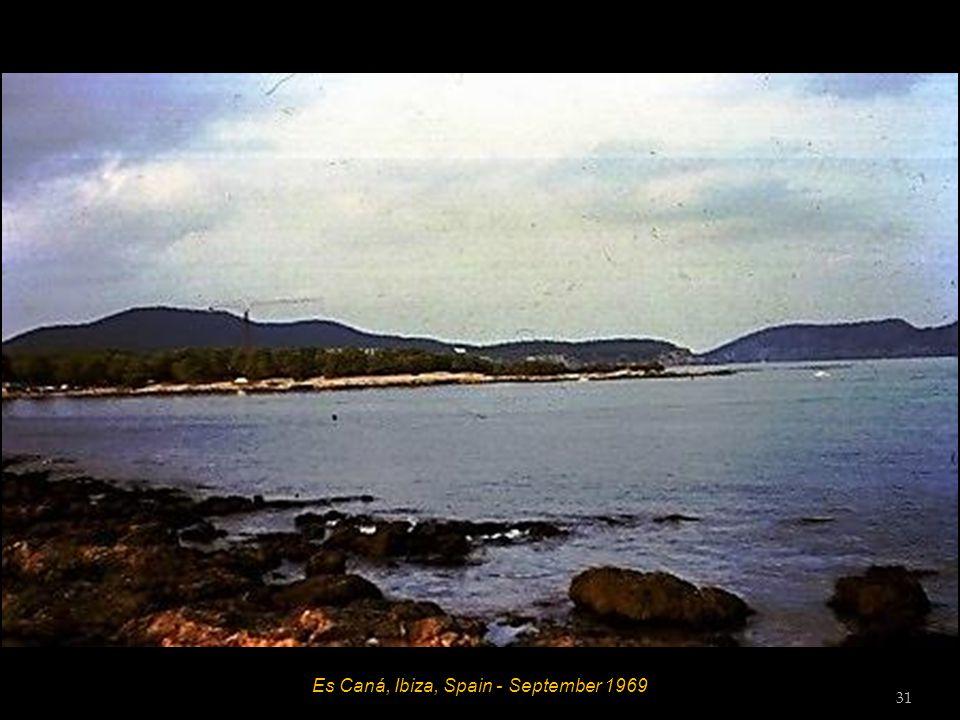 Es Caná, Ibiza, Spain - September 1969 30