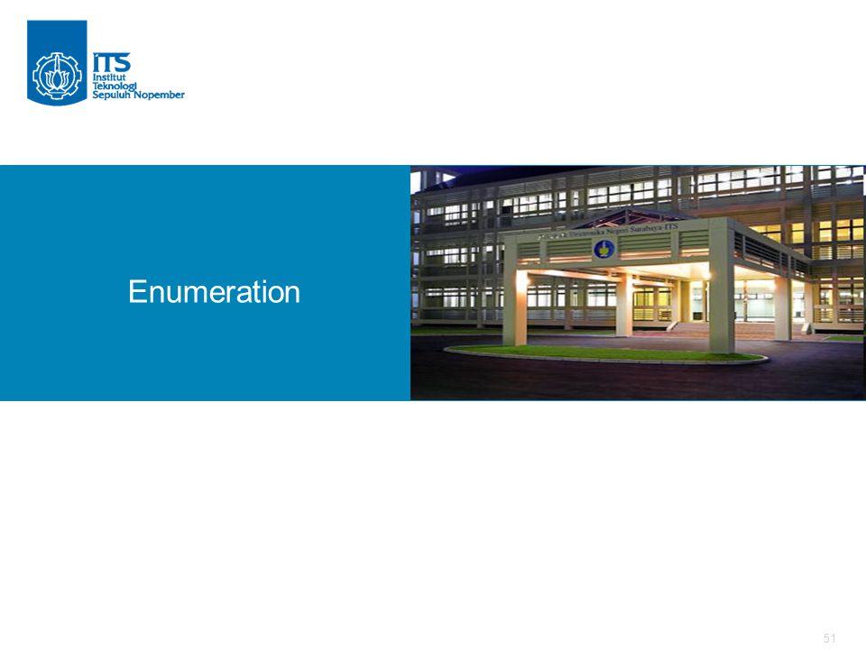 51 Enumeration