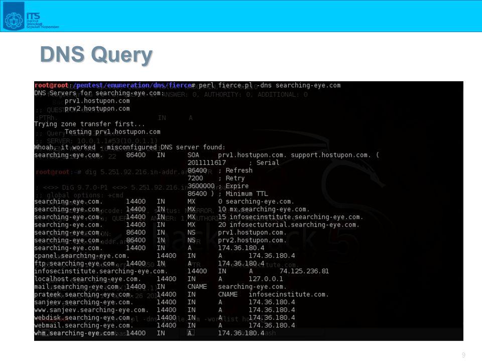 9 DNS Query