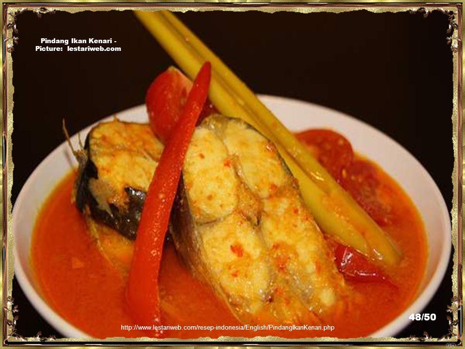 http://tipsinformasi.blogspot.com/2010/03/salah-satu-masakan-khas-ternate.html Gohu Ikan(Ternate) - Picture: tipsinformasi.blogspot.com/ 47/50