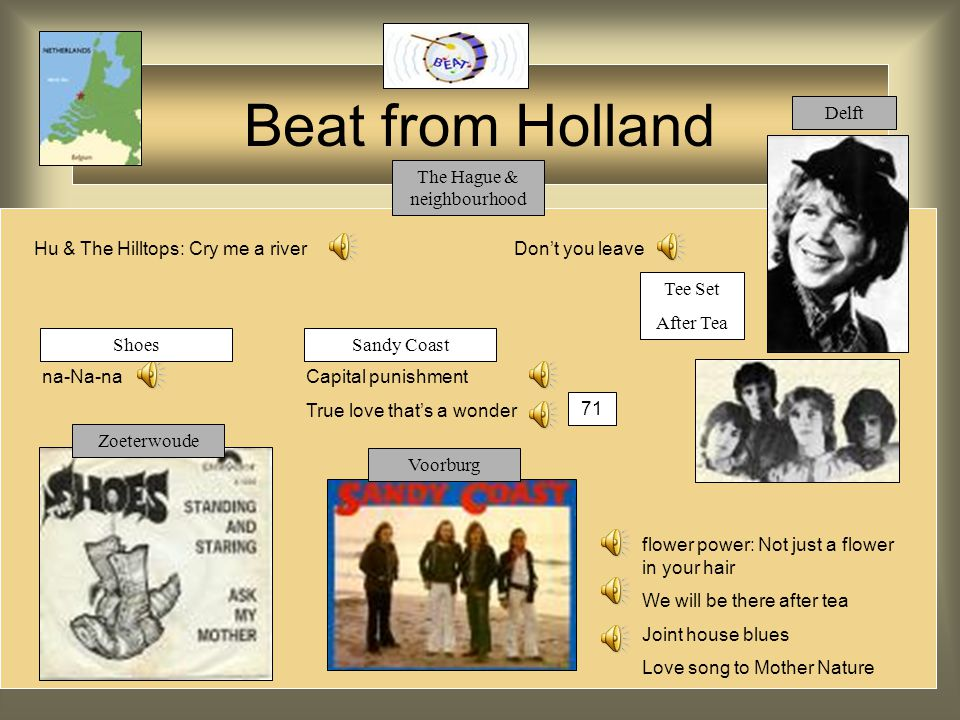 Beat from Holland Q65 You're the victor The life I live Cry in the night (b-side) (cf.