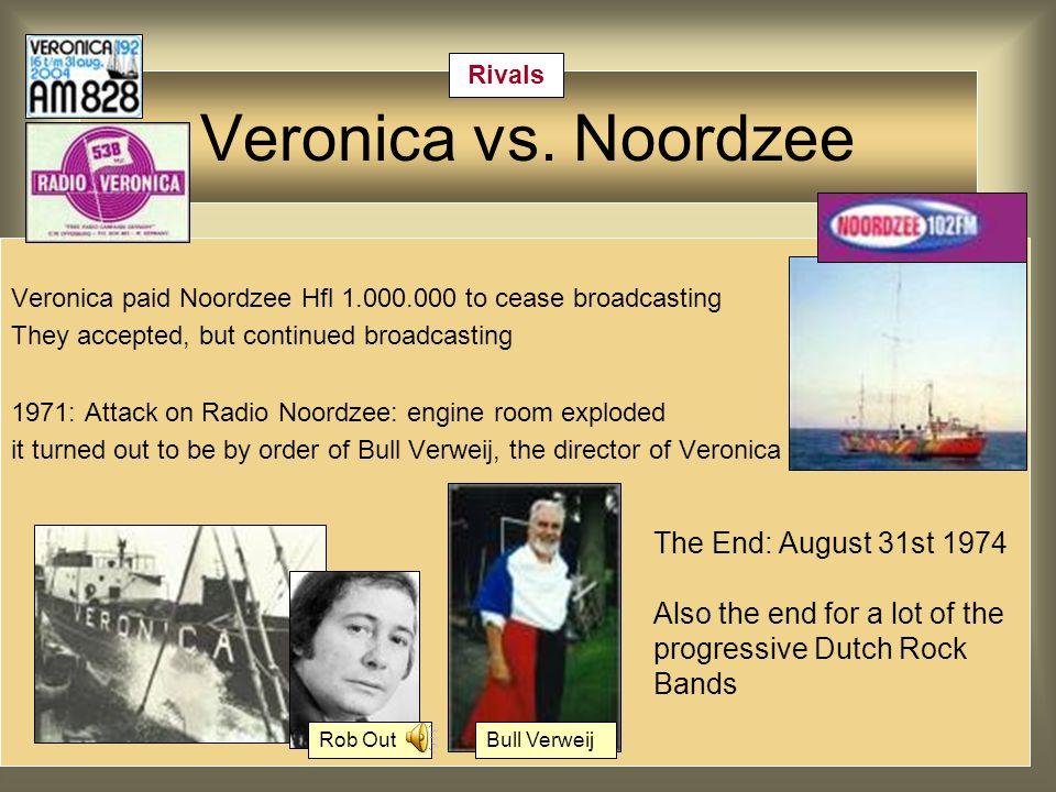 Veronica vs.Noordzee Alarmschijfvs.