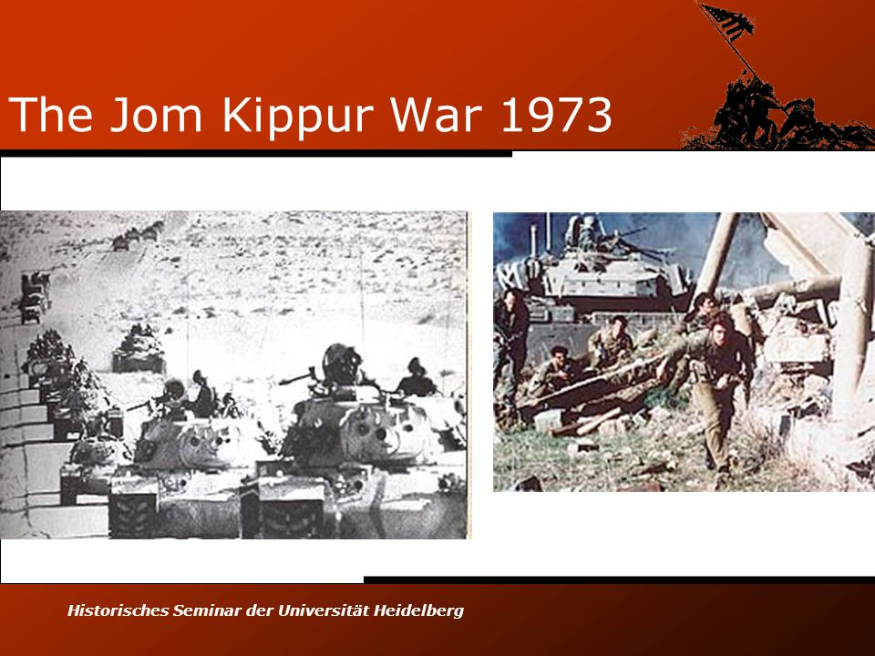 Historisches Seminar der Universität Heidelberg The Jom Kippur War 1973