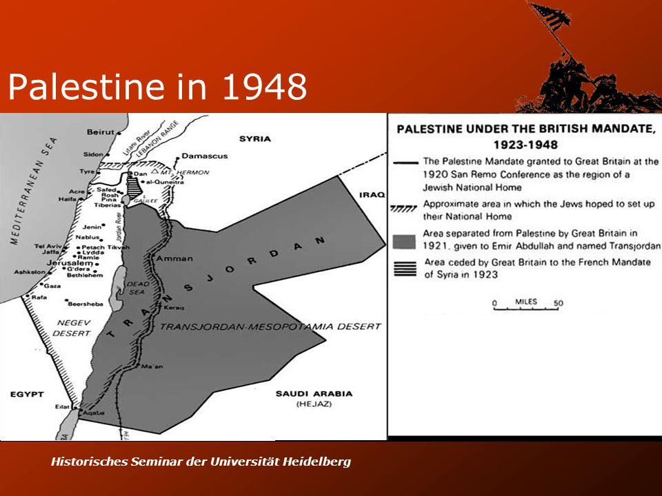 Historisches Seminar der Universität Heidelberg Palestine in 1948