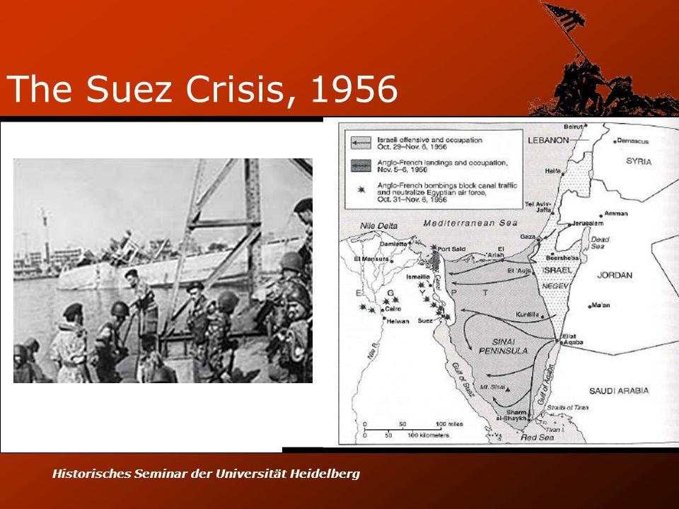 Historisches Seminar der Universität Heidelberg The Suez Crisis, 1956
